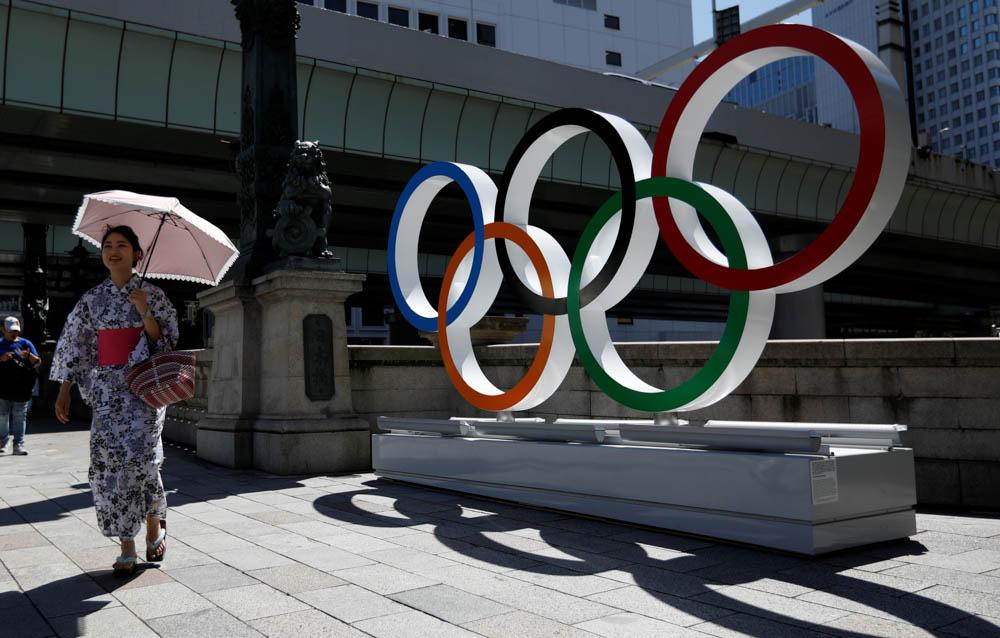 Olimpiyat Halkalari ve Olimpiyat Bayragi